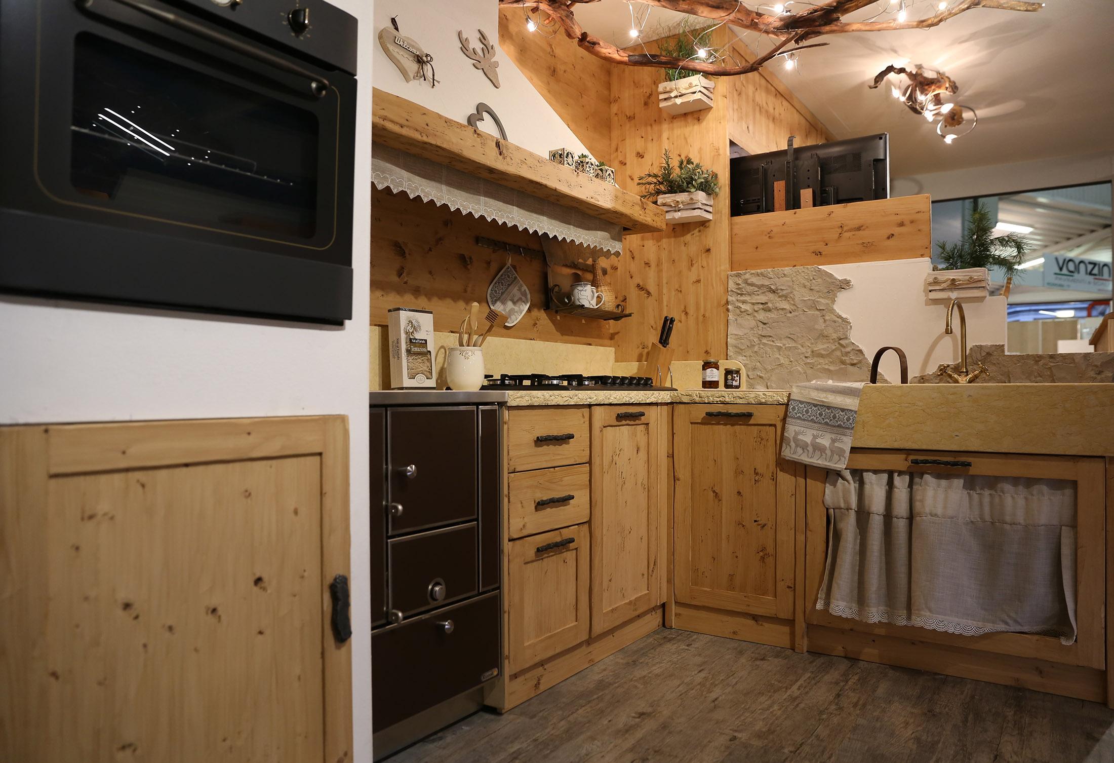 Una splendida cucina esposta ad Arredamont 2018
