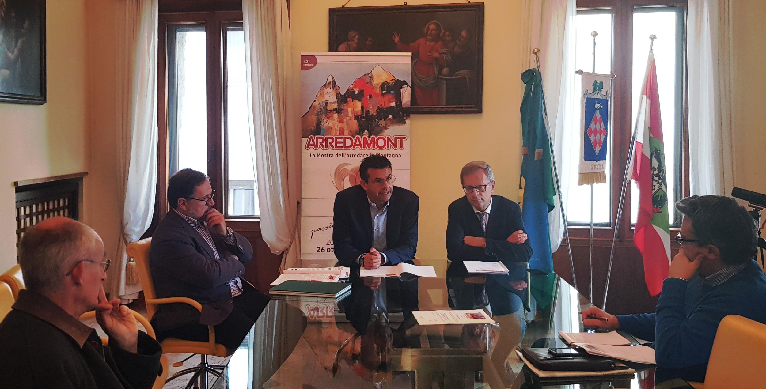 20191021 - Presentazione 42a Arredamont - Palazzo Piloni